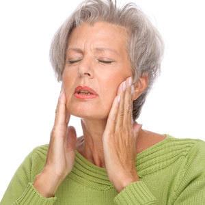 Shrinking jaw bone